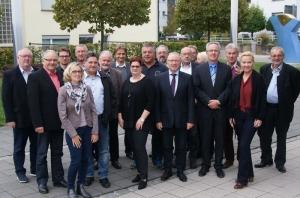 Kommunalpolitiker aus vier Nachbarstädten trafen sich in Remseck-Aldingen zum Gedankenaustausch